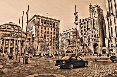 Photograph - Place D'armes by Matthew Naiden