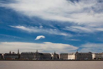 Aquitaine Photograph - Place De La Bourse Along The Garonne by Panoramic Images