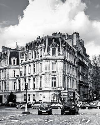 Photograph - Place Du Canada - Paris Streets by Mark E Tisdale
