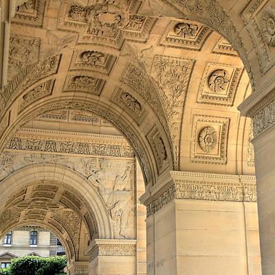 Arc De Triomphe Du Carrousel Wall Art - Photograph - Place Du Carrousel by Andrew Fare
