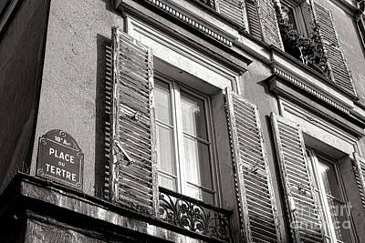 Photograph - Place Du Tertre by Olivier Le Queinec