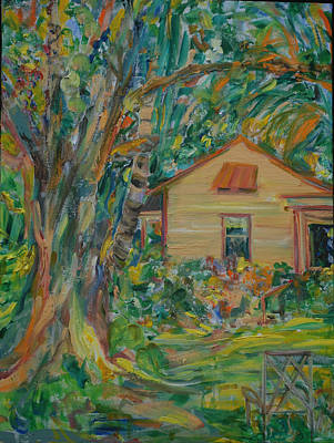 Painting - Place For Life  Plein Air by Caroline Krieger Comings