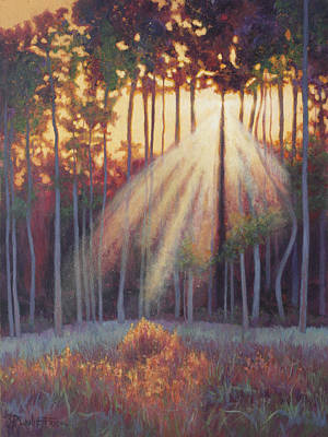 Wall Art - Painting - Place Of Illumination by Lanie Frick