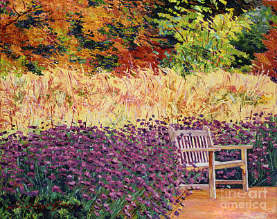 Painting - Place Of Solitude by David Lloyd Glover