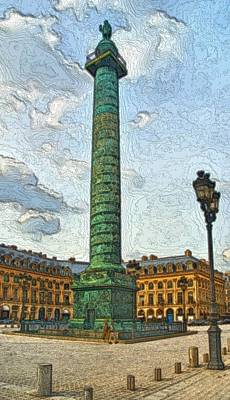 Photograph - Place Vendome by Steven Richman