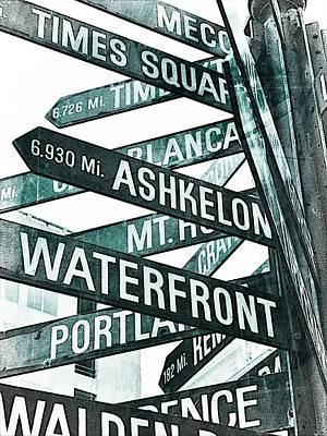 Places To See Art Print by Cathie Tyler