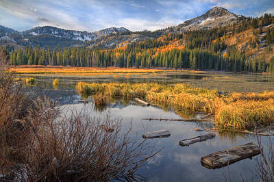 Photograph - Placid Morning At Silver Lake by Douglas Pulsipher