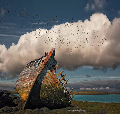 Wreck Photograph - Placid by ?orsteinn H. Ingibergsson