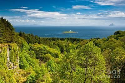 Www.landscape.lu Photograph - Pladda Lighthouse  From Arran by Maciej Markiewicz