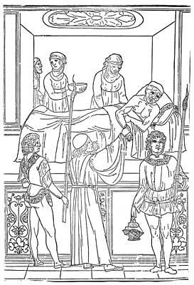 Plague, 1500 Art Print by Granger