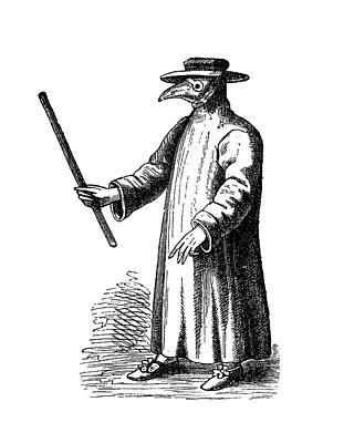 Plague Doctor Photograph - Plague Doctor by Bildagentur-online/tschanz