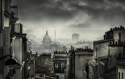 Rooftops Photograph - Plague by La Taverne Aux