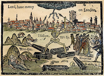 Photograph - Plague Of London, 1665 by Granger