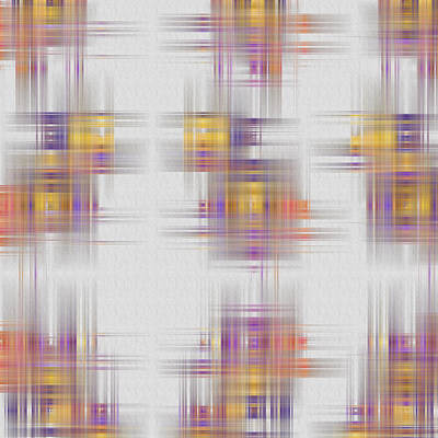 Digital Art - Plaid by Carolyn Marshall