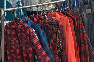 Photograph - Plaid Jackets by Douglas Pike