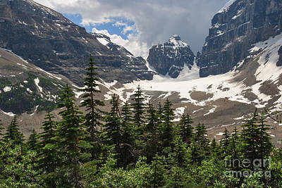 Photograph - Plain Of Six Glaciers by Charles Kozierok