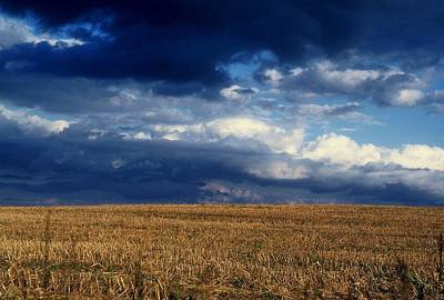 Art Print featuring the photograph Plain Sky by Rodney Lee Williams