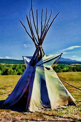 Easter Egg Stories For Children - Plains Tribes Teepee by Tommy Anderson