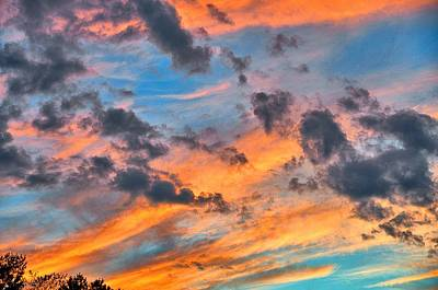 Princeton Photograph - Plainsboro Sunset by Steven Richman