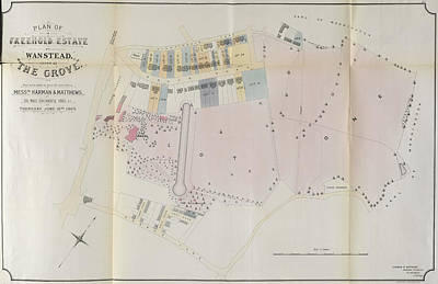 Freehold Photograph - Plan Of A Freehold Estate by British Library