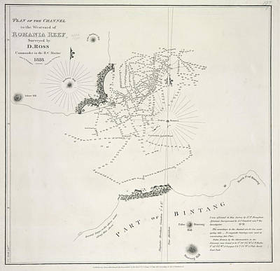 Plan Of The Channels Art Print