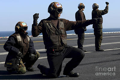 Soap Suds - Plane Captains Signal For The Start by Stocktrek Images