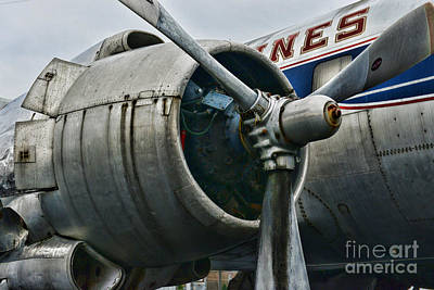Plane Check Your Engine Art Print by Paul Ward