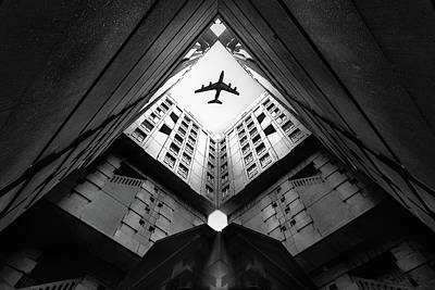 Aviation Photograph - Plane City by Correy Christophe