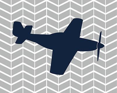 Plane Painting - Plane II by Tamara Robinson