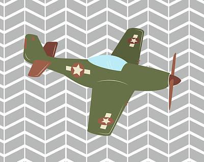 Plane Painting - Plane IIi by Tamara Robinson