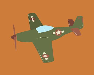 Plane Painting - Plane V by Tamara Robinson