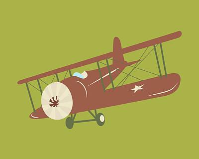 Plane Painting - Plane Vi by Tamara Robinson