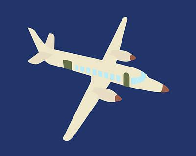 Plane Painting - Plane Vii by Tamara Robinson