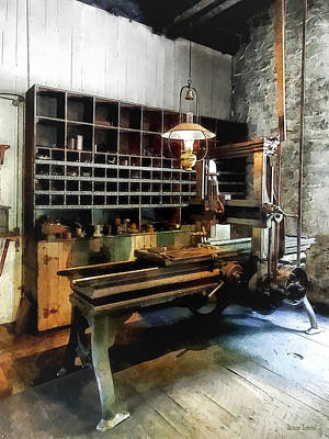 Photograph - Planer In Machine Shop by Susan Savad
