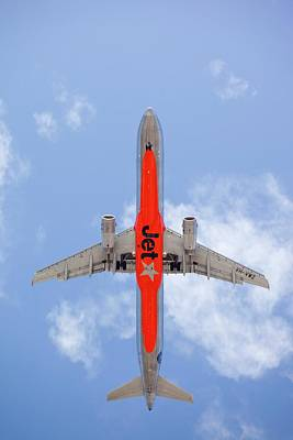 Jet Photograph - Planes Flying Into Sydney by Ashley Cooper