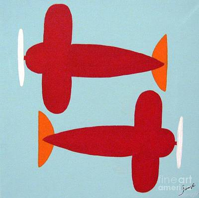 Planes  Art Print by Graciela Castro