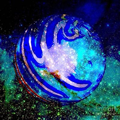 Photograph - Planet Disector 2 by Saundra Myles