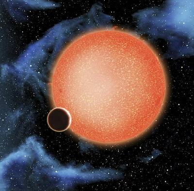 Stary Photograph - Planet Gj1214b, Artwork by Science Photo Library