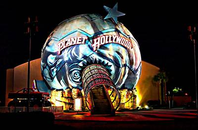 Photograph - Planet Hollywood Myrtle Beach by Bob Pardue