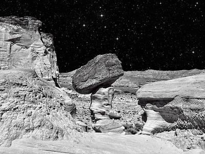 Planet Oz - Southwest Surreal Landscape Art Print by Vlad Bubnov