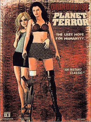 Painting - Planet Terror by Maynard Ellis