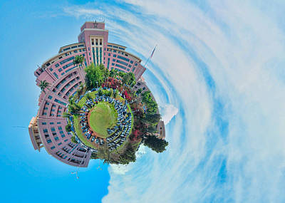 Photograph - Planet Tripler Surreal by Dan McManus