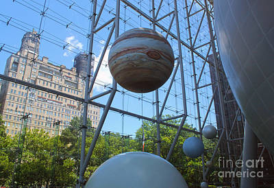 Photograph - Planets At Museum Of Natural History by Gregory Dyer