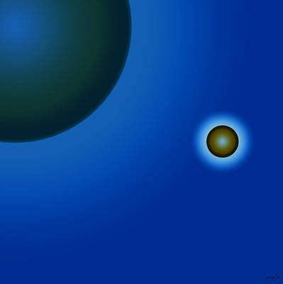 Planets Of Mercy Art Print by Sir Josef - Social Critic - ART