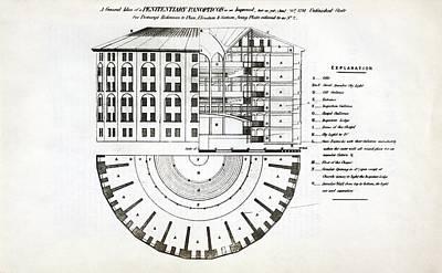 Plans For A Panopticon Prison Art Print