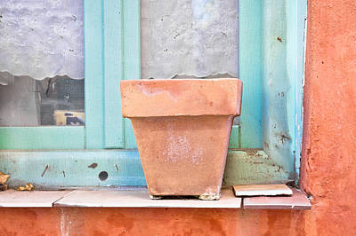 Clay Photograph - Plant Pot by Tom Gowanlock