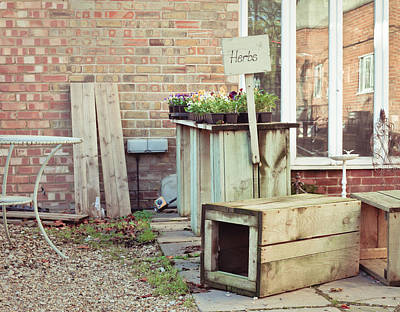 Junk Photograph - Plant Sale by Tom Gowanlock