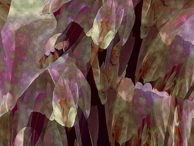 Mixed Media - Plantasia 5 by Lynda Lehmann
