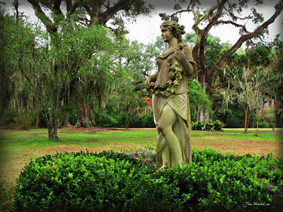 Digital Art - Plantation Garden New Orleans  by Joan  Minchak