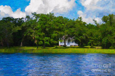 Photograph - Plantation On The Wando by Dale Powell